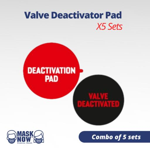 Valve Deactivator Pad Combo of 5 Sets