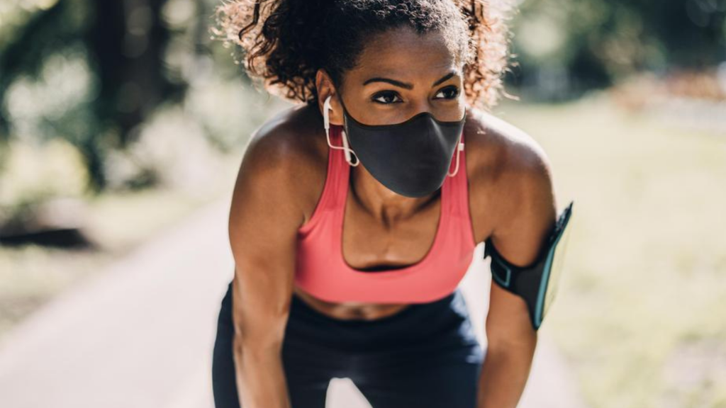 Should I wear a mask while exercising?